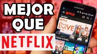 La mejor Alternativa de Netflix GRATIS!!! Full HD