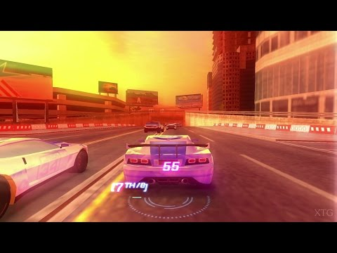 Split Second PSP Gameplay HD (PPSSPP)
