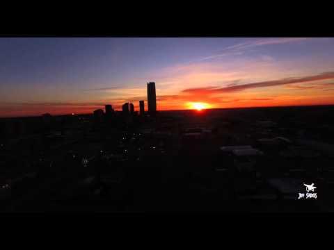 4K Sun Rise Over Oklahoma City