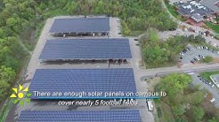 Solect Stonehill College Solar Arrays