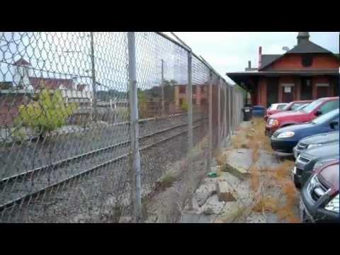 Woonsocket railroad depot/station.