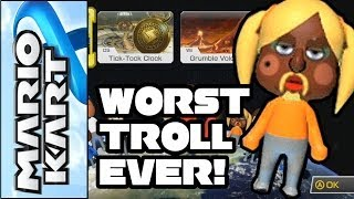 """Mario Kart 8 - """"Worst Troll and Driver Ever!"""" Funny Clip (Wii U Online Multiplayer Gameplay)"""