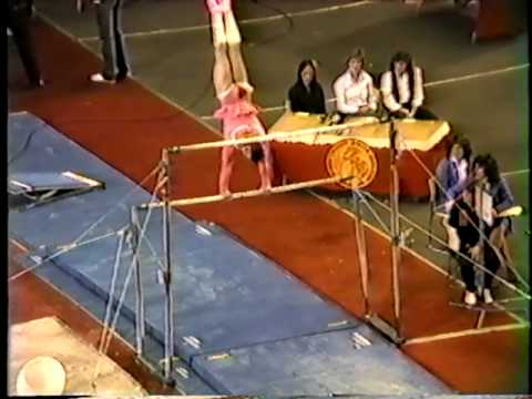 Paul Hunt Gymnastic Comedy Routine 1983