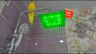 видео Лейка для душа со встроенным термометром