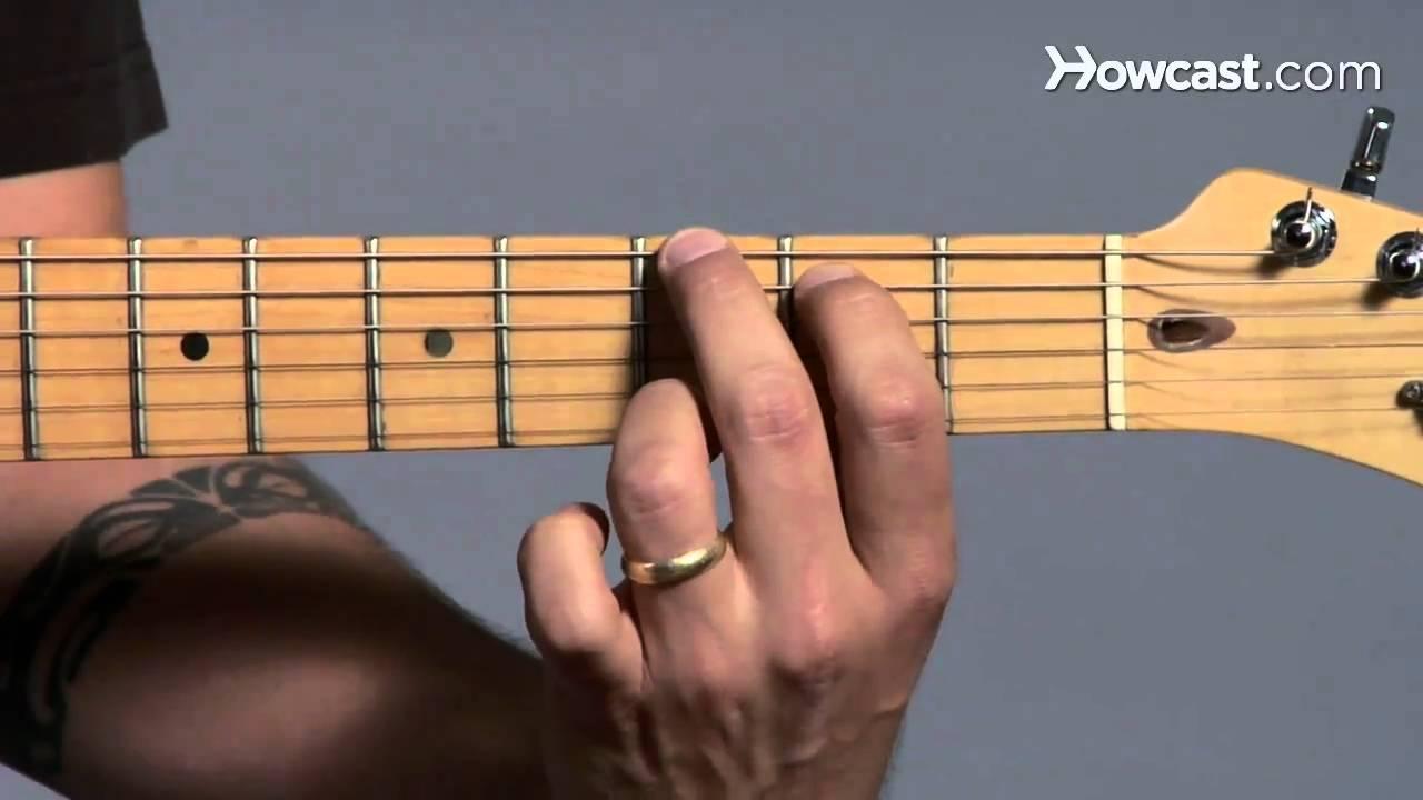 Left Hand Positioning Guitar Lessons Youtube