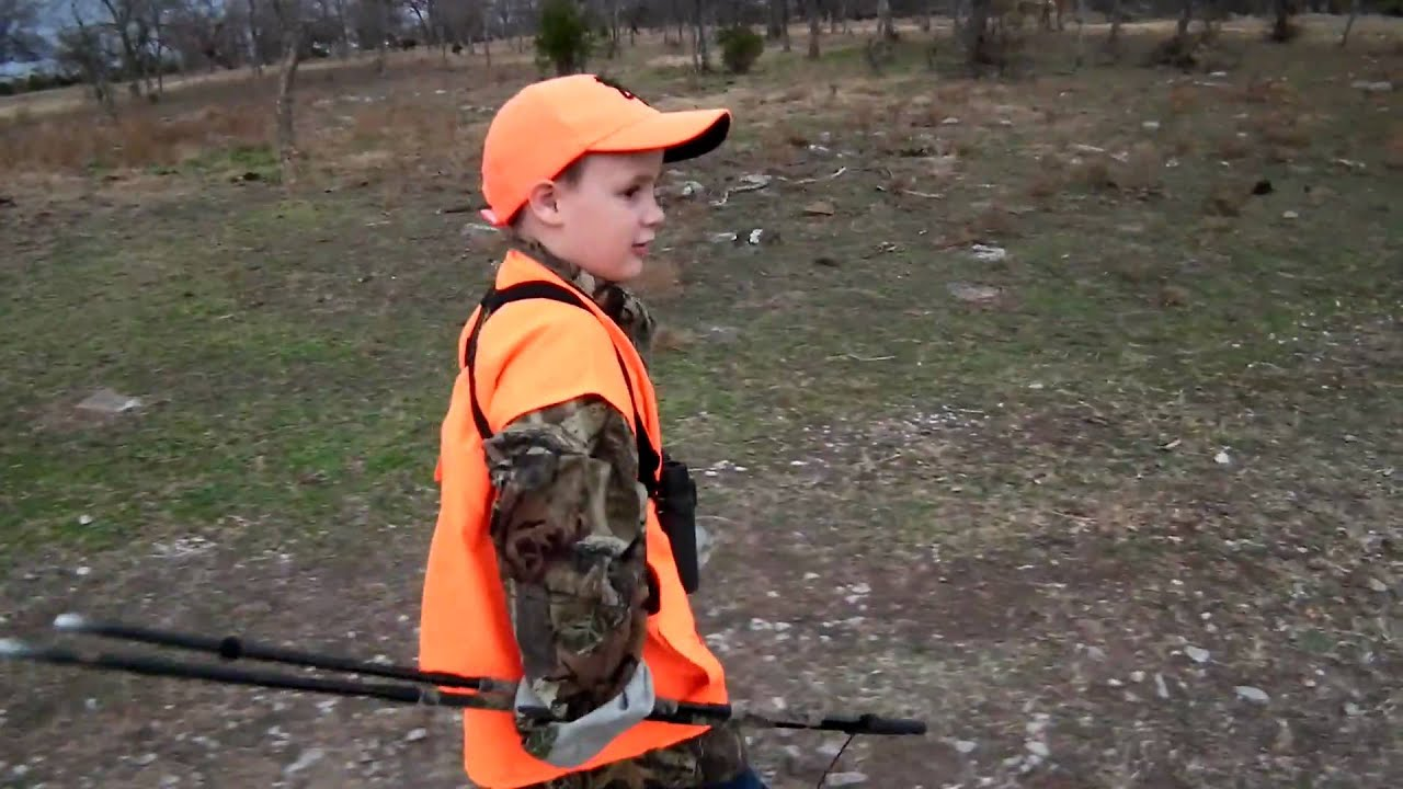 Taking my 4 year old son deer hunting in Oklahoma.