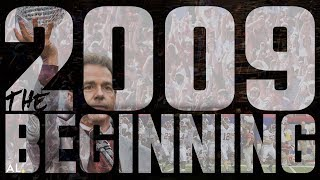 2009: The Beginning - A look back at Alabama's first championship season under Nick Saban