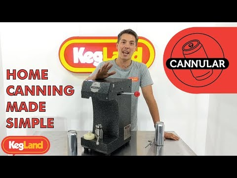 Cannular Can Seamer - CAN YOUR HOME BREW NOW
