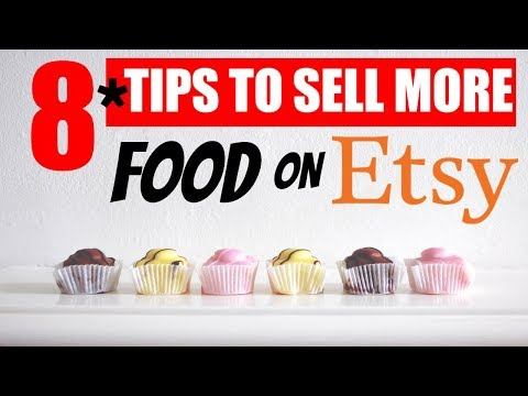 8 Etsy tips for beginners selling food on etsy making money online
