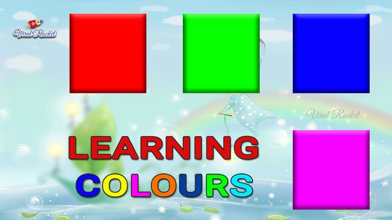 Learn Colours for kids | Colors for children, Nursery Kids, Toddlers ...