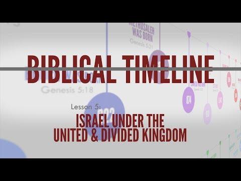 5. Kings Under The United \u0026 Divided Kingdom | Biblical Timeline