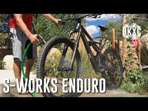2017 Specialized S-Works Enduro 29 MTB Test Ride