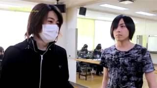 舞台『PERSONA3 the Weird Masquerade ~青の覚醒~』のメイキング。 蒼...