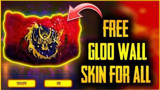 Free GLOO WALL Skin For Every Player - How To Get?? - New Event - Garena Free Fire