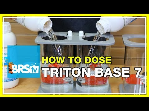 How to determine your Triton Core7 Base Elements starting dosage | BRStv How-To