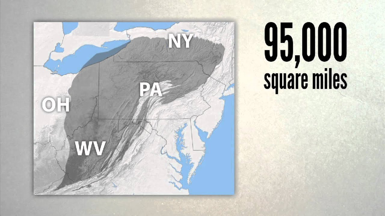 Marcellus shale: How big is the Marcellus shale formation?
