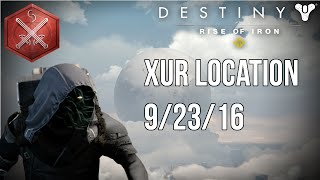 destiny rise of iron xur location 9 23 16 grinding strikes