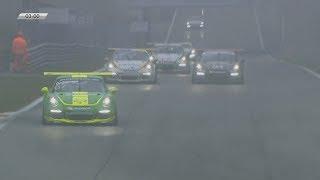 Porsche Carrera Cup Italia 2017. Race 2 Autodromo Nazionale Monza. Last Laps