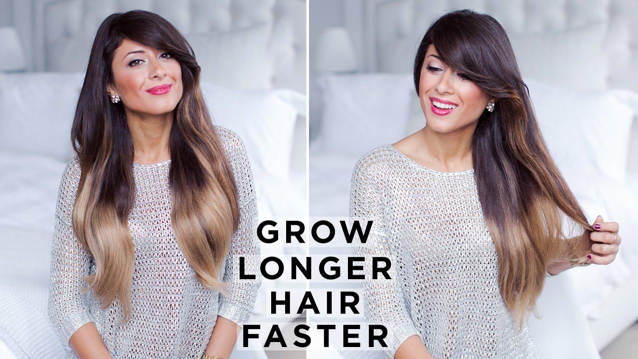 How To Grow Longer Hair Faster Easy Tips Youtube