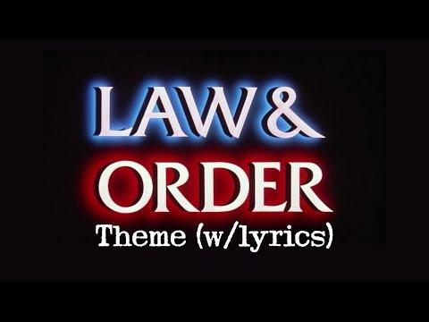 LAW & ORDER Theme (w/lyrics)