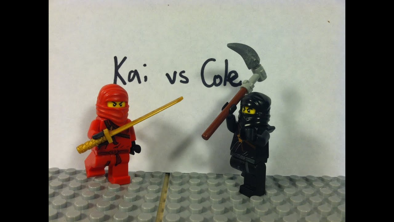 Lego ninjago kai vs cole youtube - Ninjago vs ninjago ...