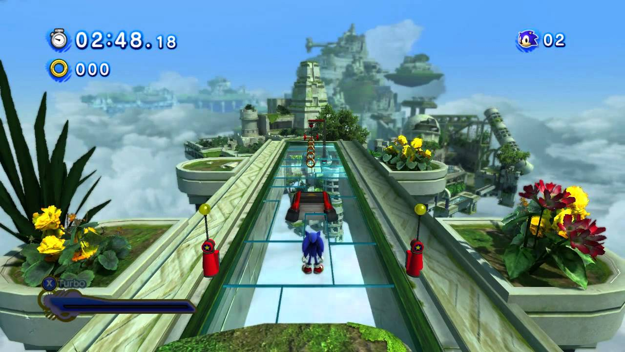 Let's Play Sonic Generations #8 - Sonic Colors ...  |Sonic Generations 2 Player Mode