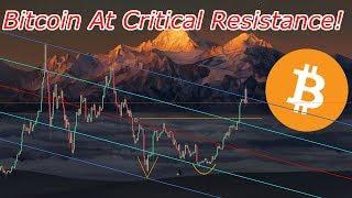 Bitcoin (BTC) Has Run To A Critical Resistance! Crypto Technical Analysis