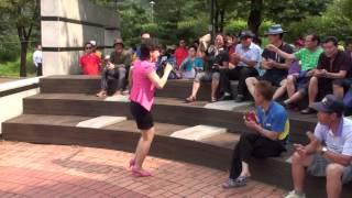 가수 선예지 - 가요 메들리 / 코리아 예술단 (원적산 공원) 야외 특설무대 공연 2015.8.23