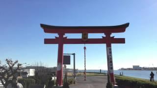 旧穴守稲荷神社の大鳥居