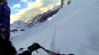snowscoot avoriaz + chutes