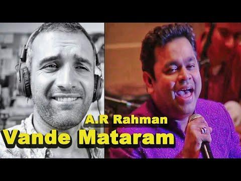 A. R. Rahman Meets Berklee - Vande Mataram  REACTION!