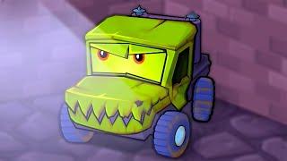 ХИЩНЫЕ МАШИНЫ против ПОЛИЦЕЙСКИХ МАШИН #1 Мультик по игре Car Eats Car 3