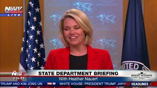 STATE DEPARTMENT BRIEFING: With Heather Nauert day after Memorial Day (FNN)