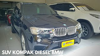 BMW X3 F25 2.0 Diesel Lci 2016 Tour Review Indonesia