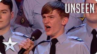 Go GA GA for the RAF Air Cadets National Choir: They will ROCK YOU! | Auditions | BGT: UNSEEN