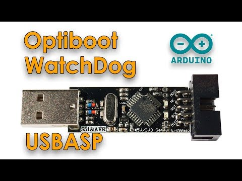 Программатор USBASP | Загрузчик Optiboot | Таймер WatchDog для Arduino Pro Mini и Arduino Nano
