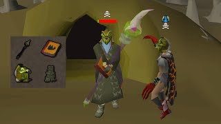 Luring Pkers then Rushing them in Max Strength