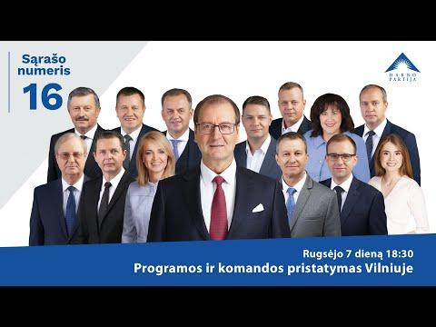 Darbo partijos programos