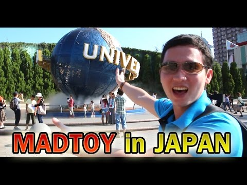 MADTOY ตอนที่151 ตุ้ย แมดทอย พาเที่ยวญี่ปุ่น Universal Studio Japan!! Osaka