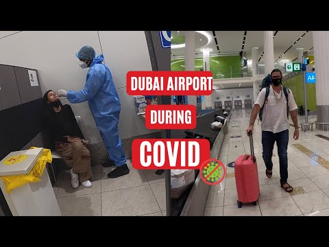 DUBAI AIRPORT DURING COVID 2021