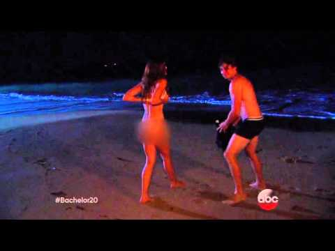 Courtney and Ben Skinny Dip - The Bachelor