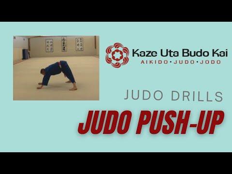 Judo drill: Judo push up