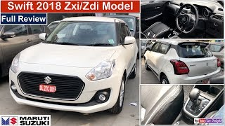 Swift 2018 Zxi,Zdi Model Review | 2018 Swift Zxi/Zdi Features,Interior and Exterior