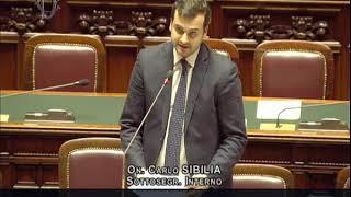 Carlo Sibilia - Risposta su iniziative per i Vigili del Fuoco
