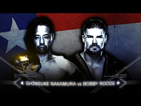 Can Shinsuke Nakamura keep the NXT Championship from Bobby Roode in San Antonio?