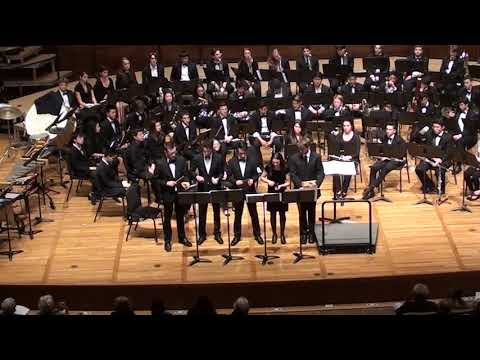Reich, Music for Pieces of Wood - UC Berkeley Wind Ensemble