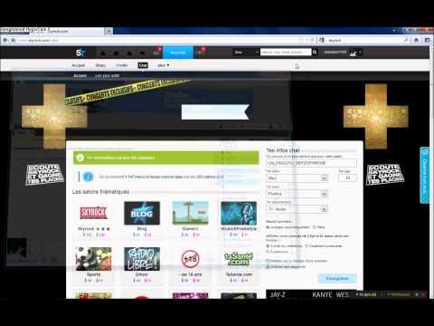 Tuto Multiconnexion Skyrock.com Chat