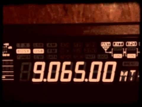 NUMBERS STATION - CUBAN SPY TRANSMISSION