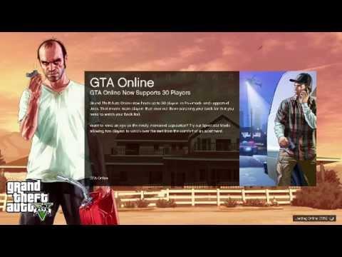 Gta online v long loading