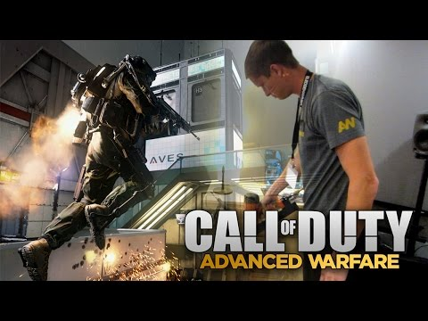 Making my own Boost Jump Sound in Advanced Warfare! (Behind the Scenes)